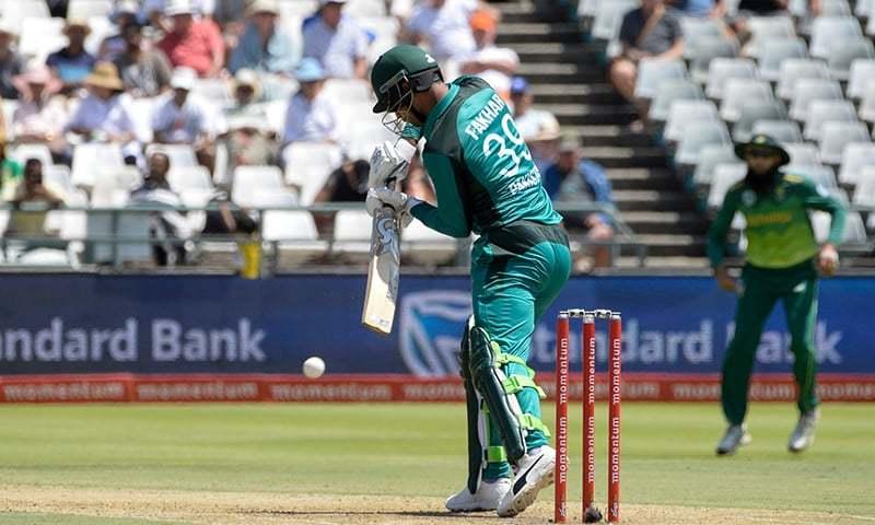 वीडियो: पाकिस्तान के सलामी बल्लेबाज फखर जमान ने बीच मैदान पर की ऐसी घटिया बात 2