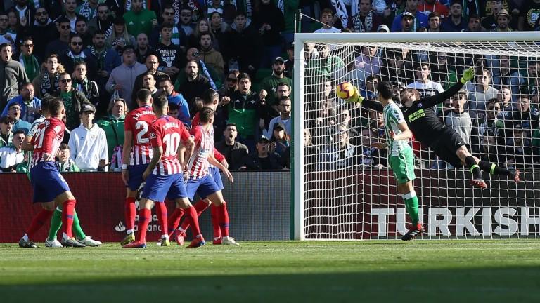 Spanish League: Bettis beat Atlético Madrid