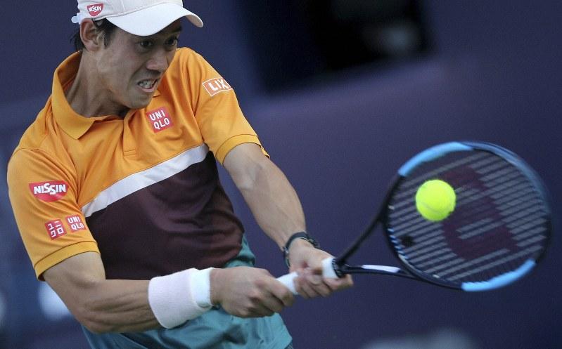 Tennis: Nishikori, who has been struggling in the Dubai championship