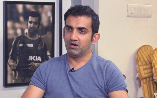 India vs New zealand- 3rd T-20: गौतम गंभीर ने लाइव टीवी पर दिनेश कार्तिक की सोच पर उठाये सवाल, कही ये बात