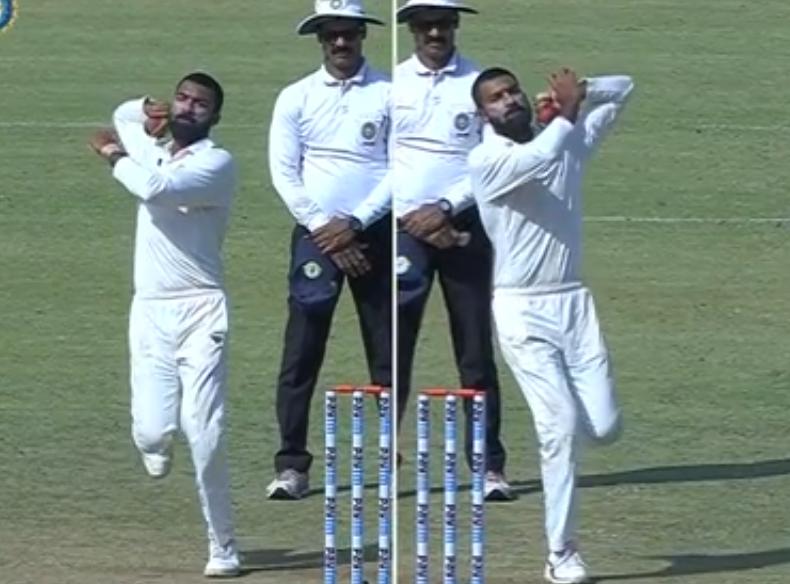 वीडियो: अक्षय कर्णेवार ने ईरानी ट्रॉफी में की दोनों हाथों से गेंदबाजी