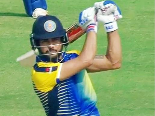 सैयद मुश्ताक अली ट्रॉफी: मनीष पांडे ने खेली टी-20 की अब तक की सबसे विस्फोटक पारी, तोड़ने से चूके ये रिकॉर्ड 24