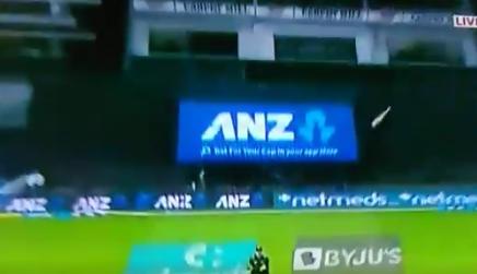 वीडियो : 14.5 ओवर में बड़ा शॉट खेलने के चक्कर में हार्दिक पांड्या के हाथ से छुटा बल्ला फिर हुआ कुछ ऐसा 3