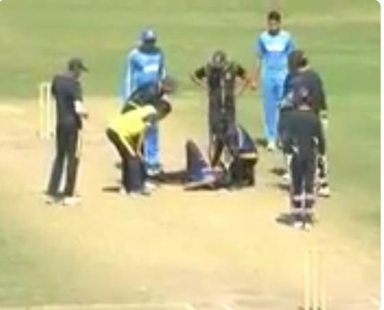 वीडियो : भारतीय टीम के इस खिलाड़ी के चेहरें पर लगी गेंद, दर्दनाक हादसे के बाद अस्पताल में भर्ती
