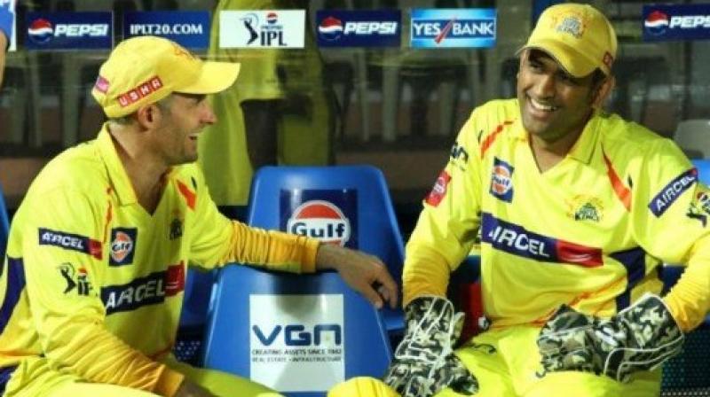 ऑस्ट्रेलियाई दिग्गज माइक हसी ने बताया धोनी को विश्व कप में किस स्थान पर करनी चाहिए बल्लेबाजी 1