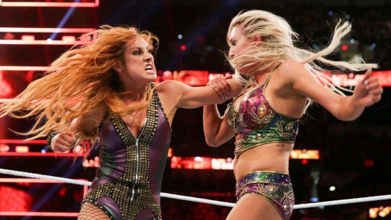 Becky Lynch, Charlotte Flair