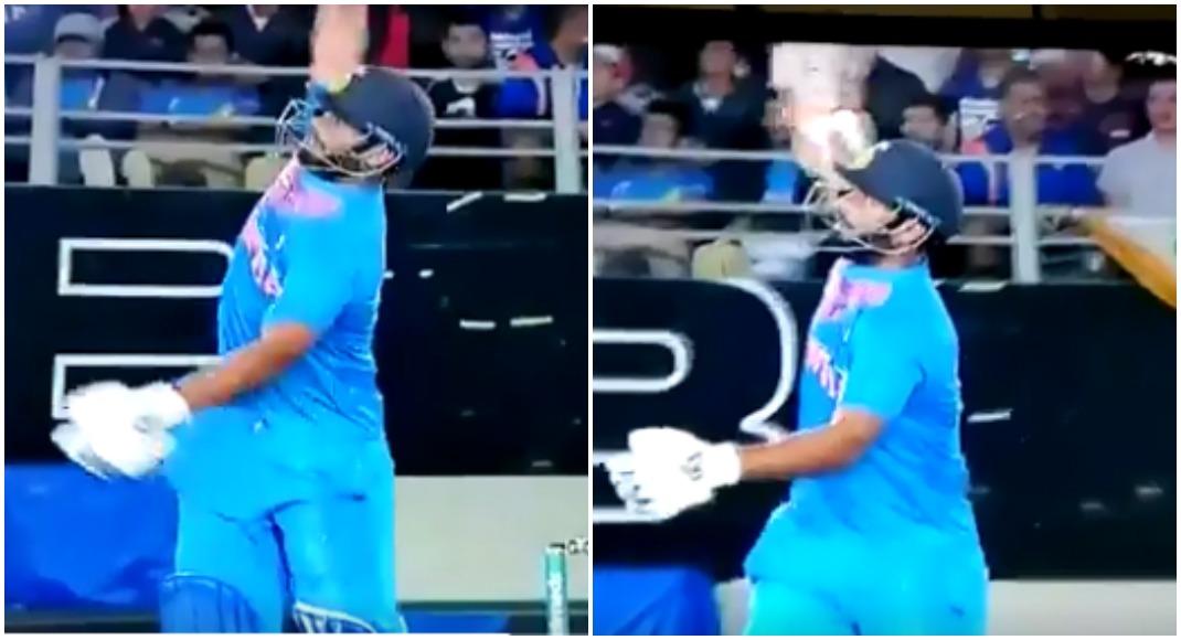 वीडियो: ऋषभ पंत ने मैच में खेला एक हाथ से ऐसा शॉट देख दूसरे छोर पर खड़े धोनी हुए हैरान