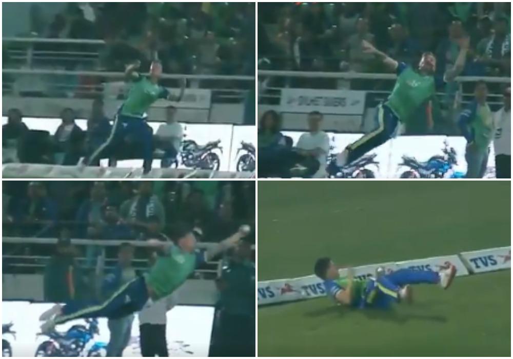वीडियो: जेसन रॉय ने लपका क्रिकेट इतिहास का सबसे बेहतरीन कैच!