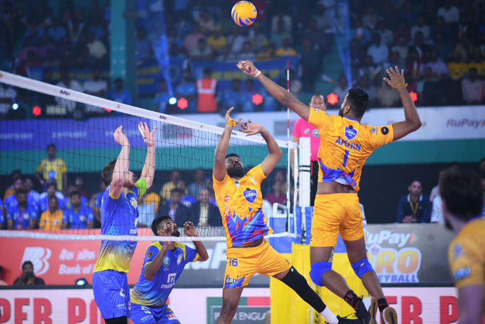 Rupee Pro Volleyball League: Kochi made a place in the playoff by defeating Chennai