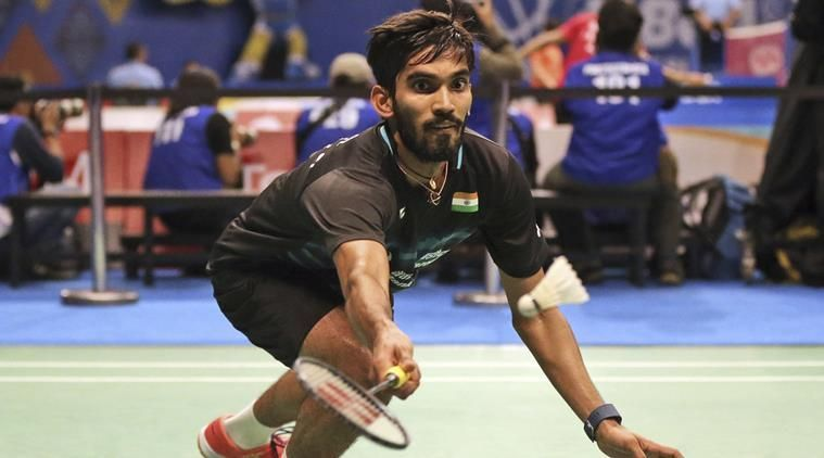 Srikanth reached number 8 in BWF ranking