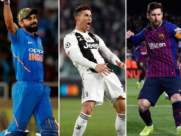100 फेमस खिलाड़ियों की सूची के टॉप 10 में विराट एकलौते भारतीय, टॉप 20 में 3 बड़े नाम