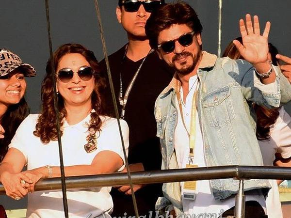 कोलकाता नाईट राइडर्स के मालिक और बॉलीवुड अभिनेता शाहरुख़ खान को आ रही है आईपीएल की याद 6