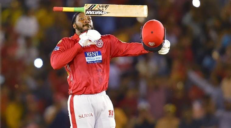 Gayle made the fastest 4000 runs in IPL
