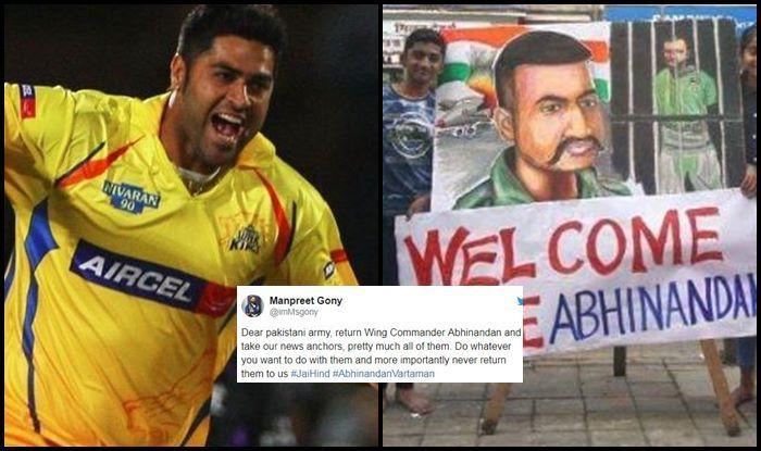 IAF विंग कमांडर अभिनंदन के घर वापसी पर गंभीर, रैना और सहवाग समेत भारतीय खिलाड़ियों ने ऐसे किया उनको सलाम