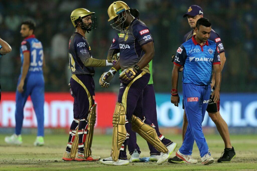 IPL 2019- ये क्या फिक्स था दिल्ली कैपिटल्स और कोलकाता नाईट राइडर्स का मैच? गेंद डालने से पहले ऋषभ पंत को पता था परिणाम 1
