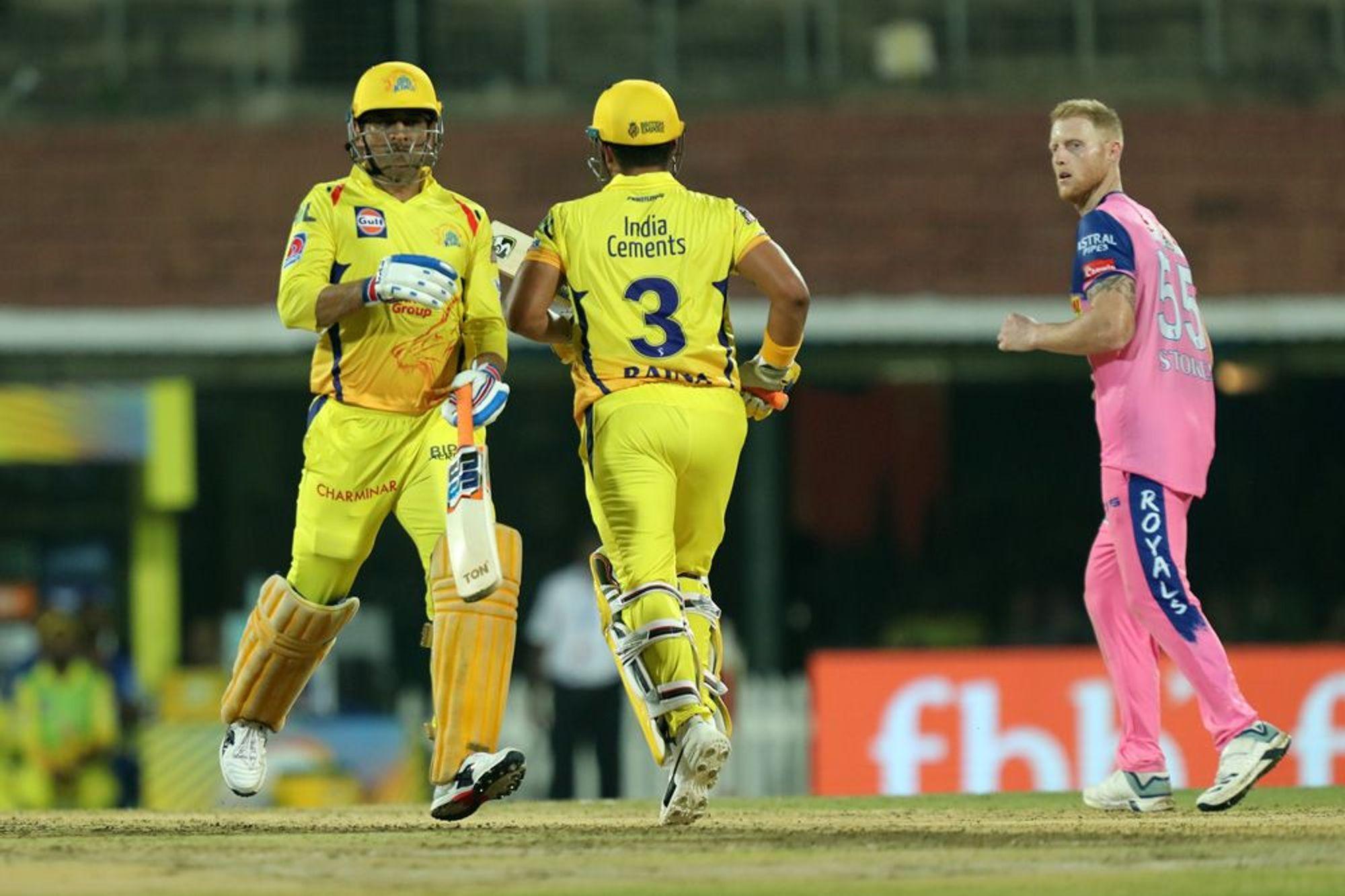 CSKvsRR : धोनी की तूफानी पारी से 8 रन के अंतर से जीता चेन्नई सुपर किंग्स, रहाणे की यह गलती टीम को पड़ी भारी