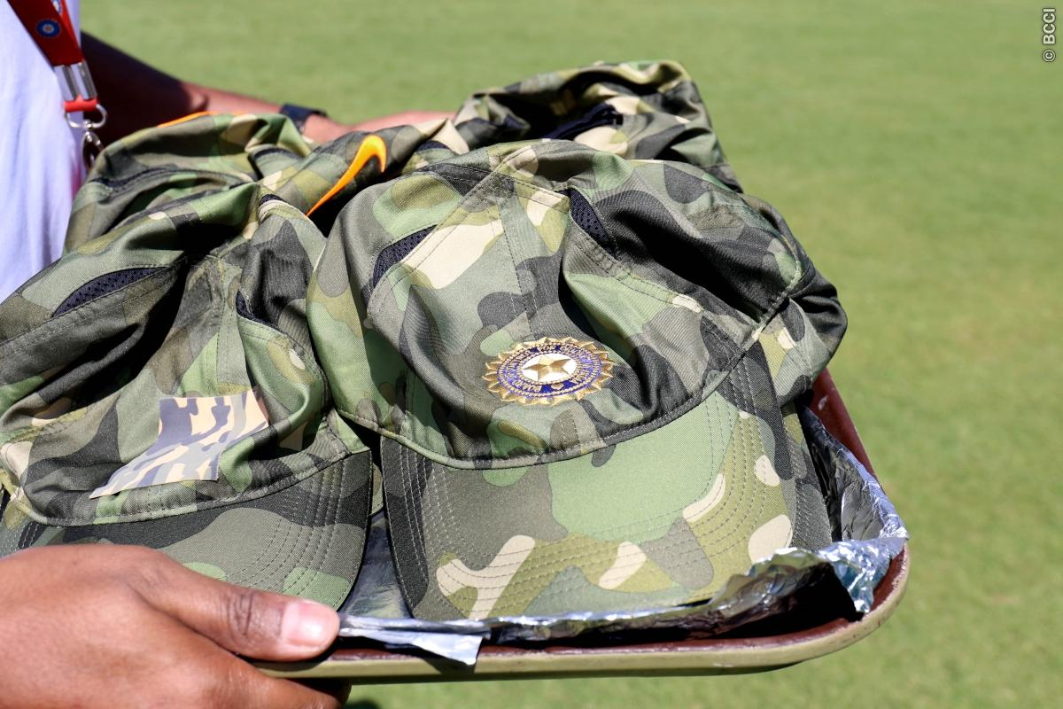 Dhoni, Kohli's Special 'Cap' campaign for honor of Armed Forces