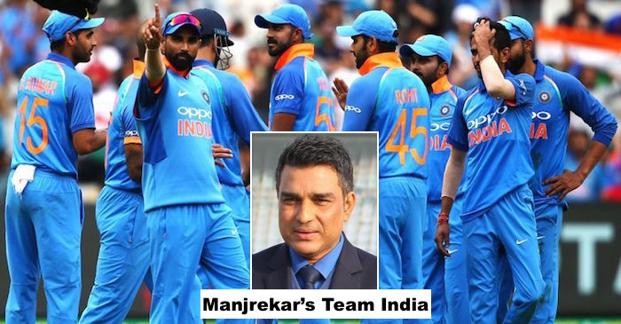 संजय मांजरेकर ने चुनी विश्वकप 2019 के लिए भारतीय टीम, कई बड़े नामो को बाहर कर चुने नये नाम