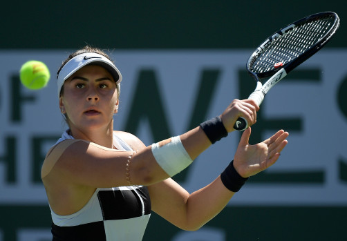 Tennis: Andreascu wins Indian Wells Women's Singles Title