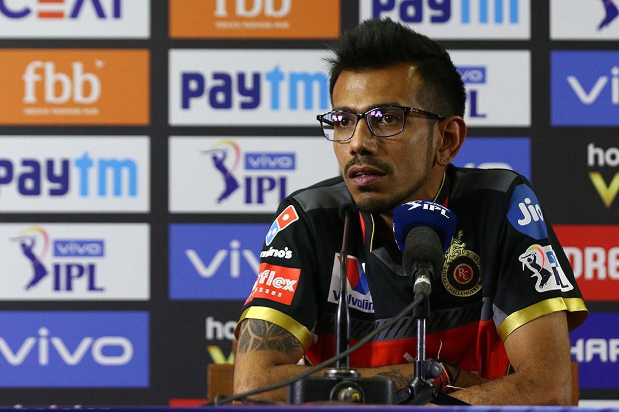 आईपीएल 2019 : युवराज सिंह ने जब लगाए लगातार 3 छक्के तो मैंने स्टुअर्ट ब्रॉड की तरह महसूस किया: युजवेंद्र चहल
