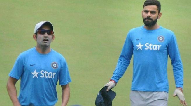 गौतम गंभीर ने विराट कोहली पर लगाया प्लेइंग इलेवन में पक्षपात का आरोप, कहा इस खिलाड़ी के साथ कर रहे नाइंसाफी 1