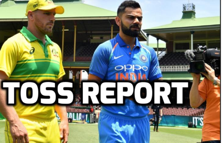 India vs Australia- टॉस रिपोर्ट: ऑस्ट्रेलिया ने टॉस जीता पहले गेंदबाजी का फैसला, भारतीय टीम में दिग्गज की वापसी