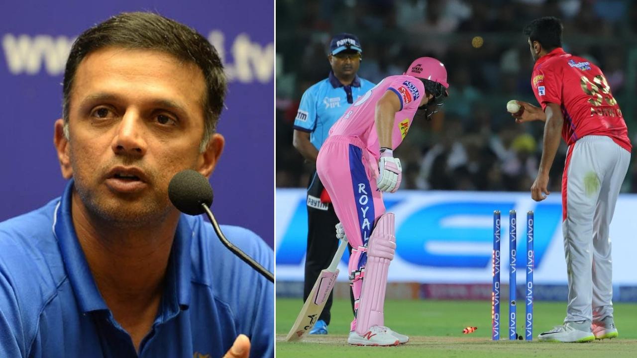 IPL 2019: मांकडिंग पर रविचन्द्रन अश्विन के पक्ष में उतरे राहुल द्रविड़, बटलर के लिए कही ये बात
