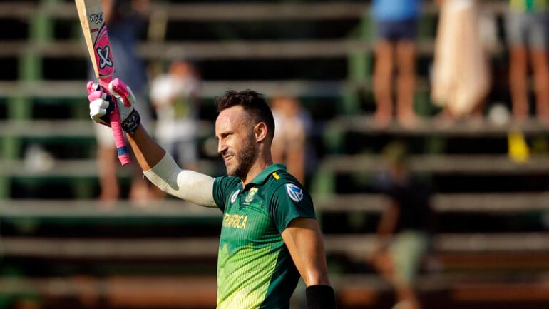 Johannesburg ODI: Centuries of Plessis, D. Wins Africa