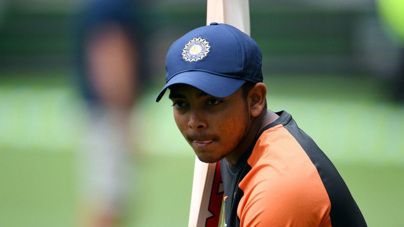 न्यूजीलैंड दौरे पर तीसरे सलामी बल्लेबाज की भूमिका में नजर आ सकते है पृथ्वी शॉ