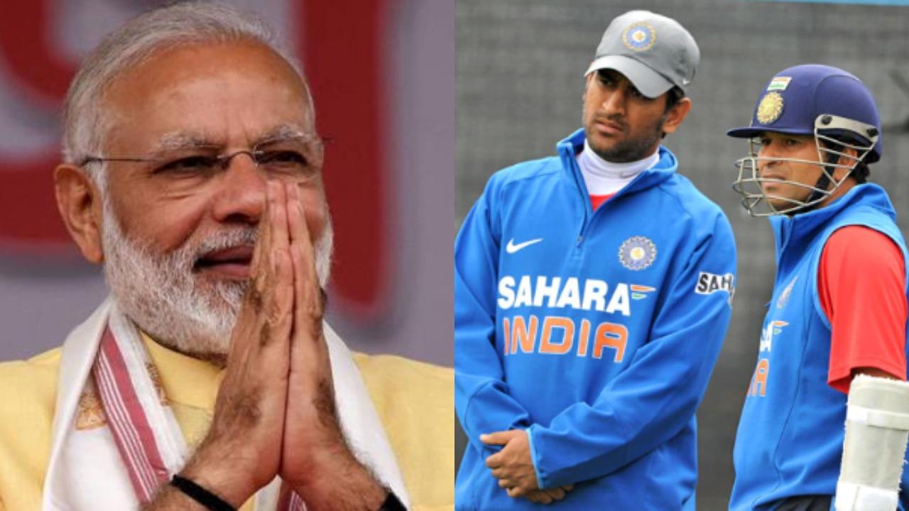 प्रधानमंत्री नरेंद्र मोदी ने सचिन, विराट, धोनी समेत खेल के बड़े दिग्गजों से की खास अपील 3