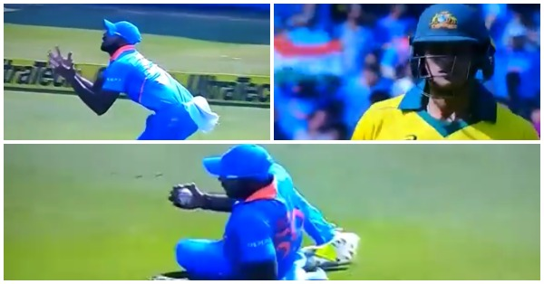 वीडियो : विजय शंकर ने फिसलते हुए लिया शानदार कैच, देख आपकों भी नहीं होगा यकीन 8