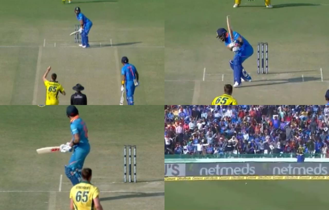 WATCH: विराट कोहली ने खेला ऐसा अटपटा शॉट, देखकर नहीं रुकी केएल राहुल की हंसी