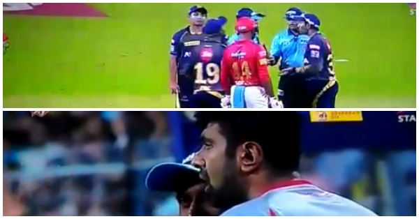 वीडियो : 5.1 ओवर में एक बार फिर विवाद में पड़े अश्विन, इस बार था कुछ ये मामला