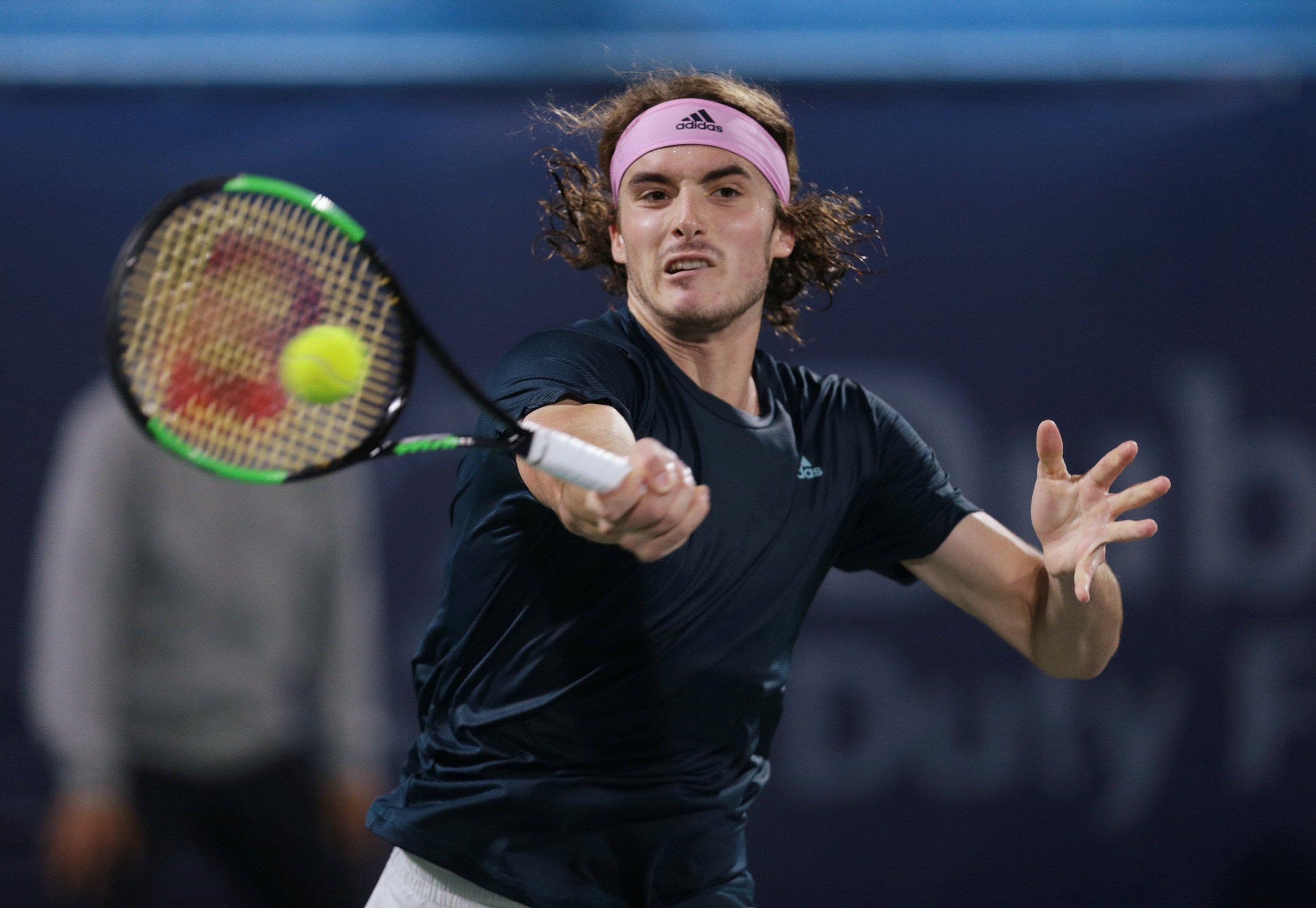 Tennis: Sitasipas defeats Monfils in Dubai championship