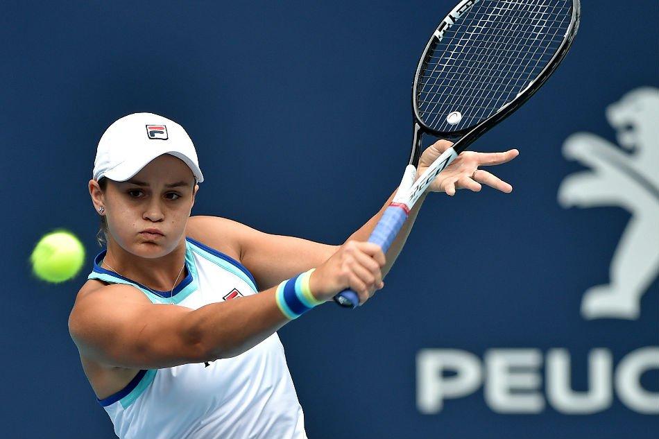 Women's Tennis: Australia's Barty Wins Miami Open