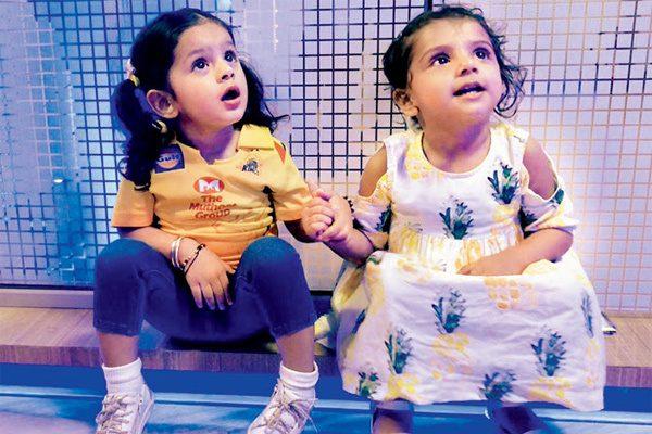 WATCH : हरभजन सिंह की बेटी ने पापा और चेन्नई सुपर किंग्स को किया चीयर, देखें वीडियो