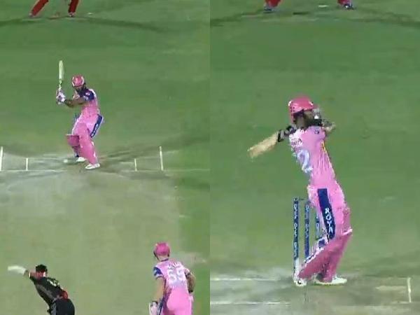 IPL 2019- राहुल त्रिपाठी ने महेन्द्र सिंह धोनी की स्टाइल कॉपी कर राजस्थान को दिलाया जीत, तो देखने लायक था विराट का रिएक्शन 15