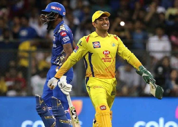 आईपीएल 2019:हार्दिक पांड्या ने बताया, हेलीकॉप्टर शॉट पर महेंद्र सिंह धोनी ने क्या प्रतिक्रिया दी थी