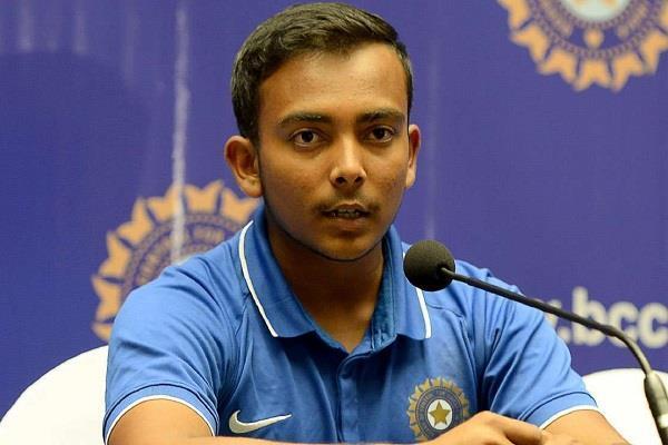 IPL 2019: पृथ्वी शाॅ ने बताया वजह क्यों नहीं मिलेगी उन्हें विश्वकप 2019 में जगह 2