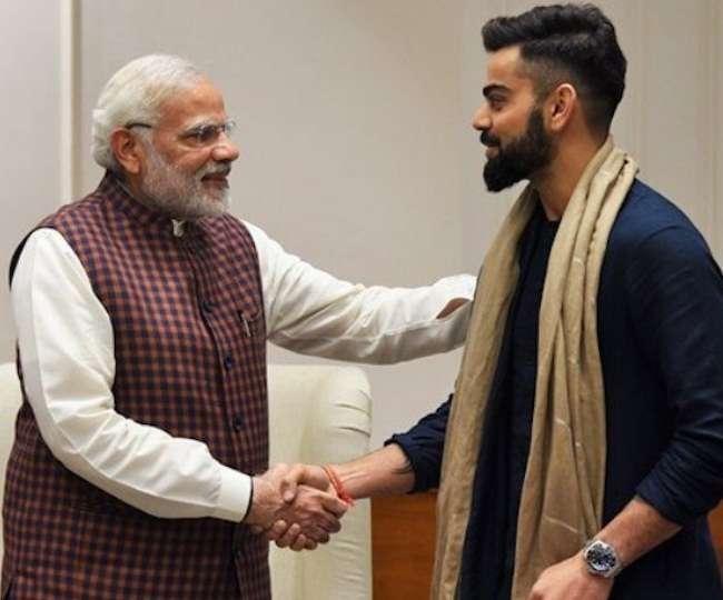 प्रधानमंत्री नरेंद्र मोदी ने विराट कोहली को विश्व कप से पहले दिया ये ख़ास तोहफा और संदेश