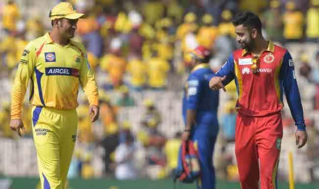 IPL 2019- क्या होता अगर विराट कोहली की जगह महेंद्र सिंह धोनी होते रॉयल चैलेंजर्स बैंगलोर के कप्तान? ये होते बदलाव 4