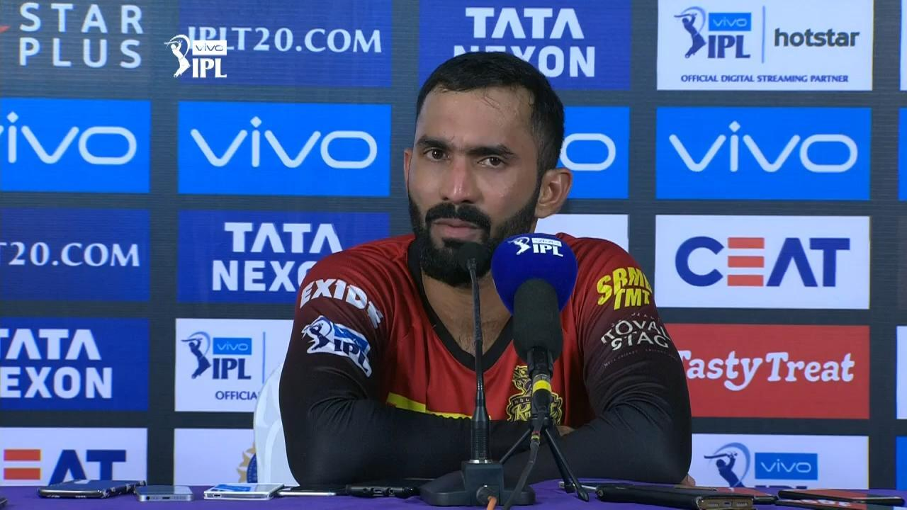KKRvsRCB: कोलकाता नाईट राइडर्स के कप्तान दिनेश कार्तिक ने इन्हें ठहराया हार का जिम्मेदार