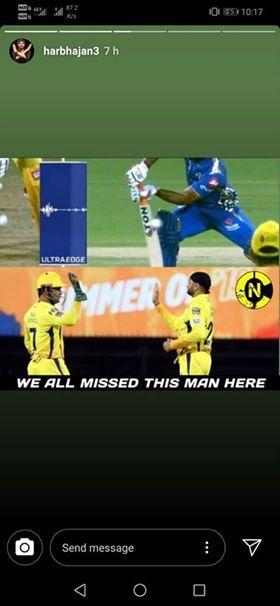मुंबई के खिलाफ मिली करारी हार के बाद अंबाती रायडू के ऊपर तंज कसते हर नजर आये हरभजन सिंह, धोनी के लिए भी कही यह बात 4