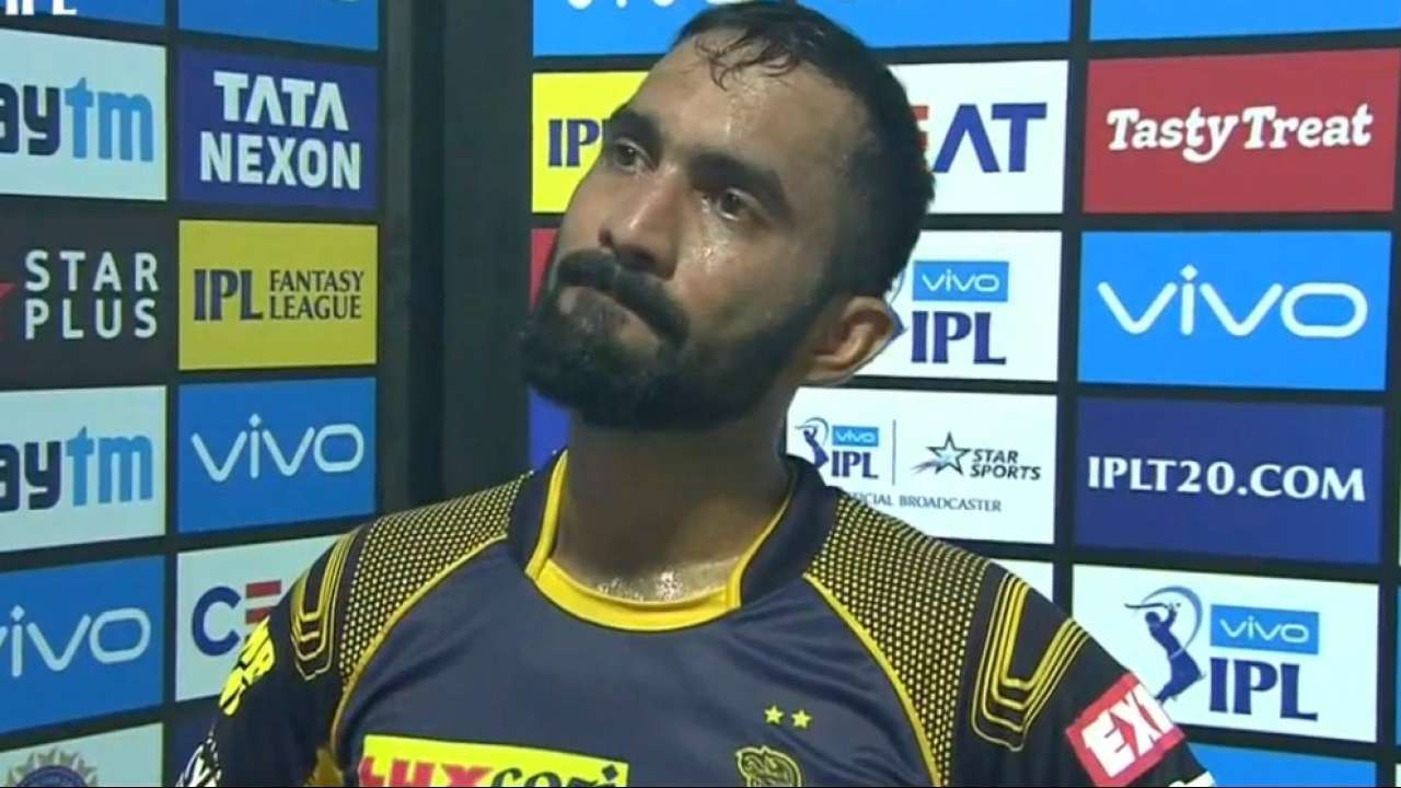 Our team performed the best: Karthik