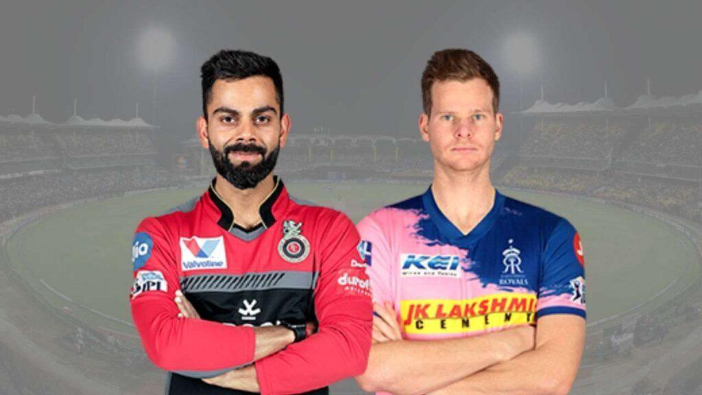 RCBvsRR: राजस्थान रॉयल्स ने जीता टॉस, दोनों टीमों में बड़े बदलाव 2