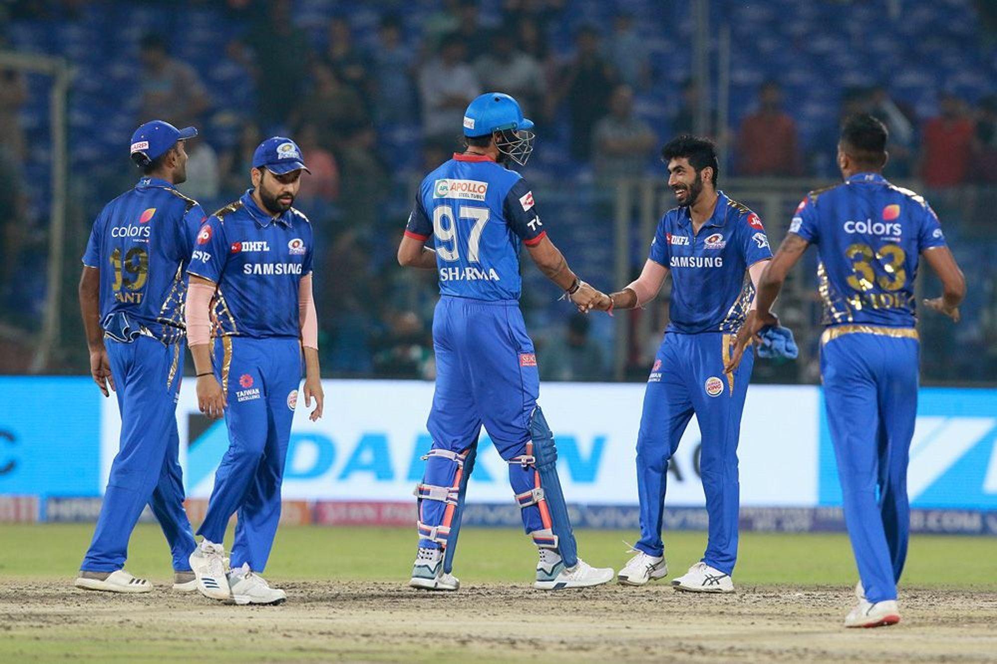 DCvsMI : STATS : मैच में बने 8 रिकार्ड्स, रोहित शर्मा ने 30 रन की पारी में ही बना डाला विश्व रिकॉर्ड