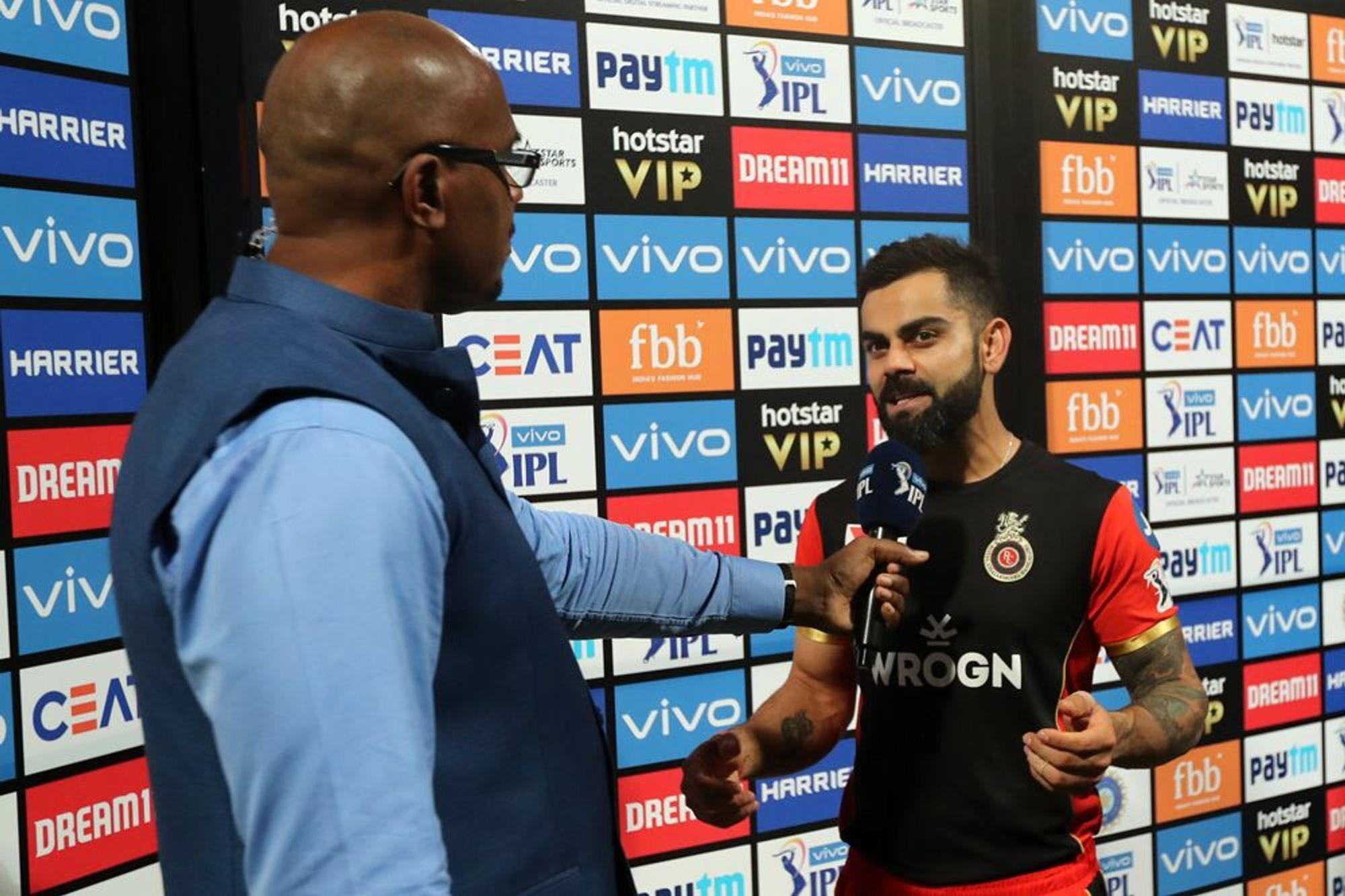RCBvsCSK: जीत के बाद कोहली ने धोनी के लिए कहा कुछ ऐसा, जीत लिया करोड़ो हिन्दुस्तानियों का दिल
