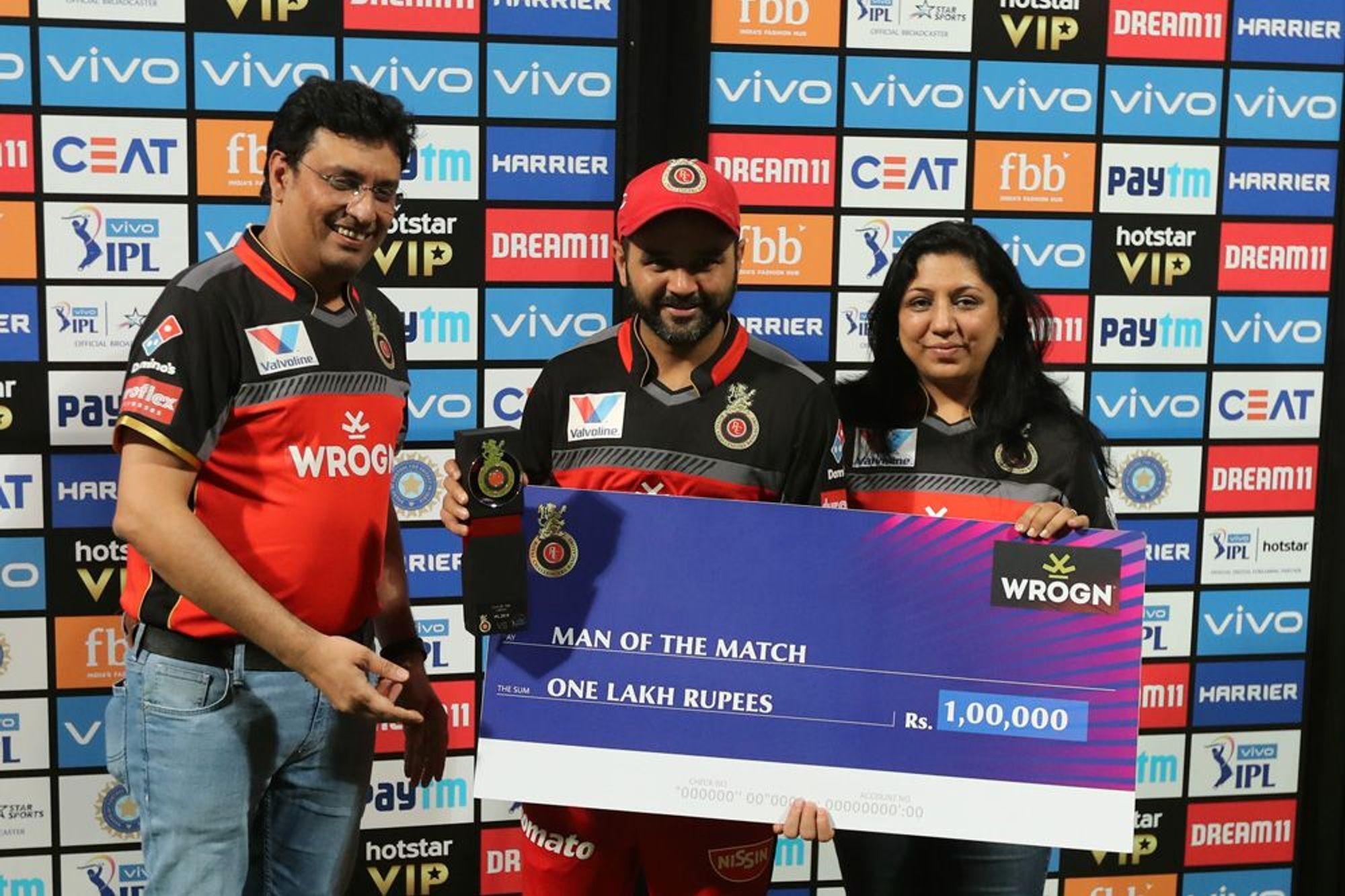 आईपीएल 2019: पार्थिव पटेल की बदौलत रोमांचक मैच में जीता बैंगलोर तो मोहम्मद सिराज ने किया कुछ ऐसा जीत लिया दिल 3