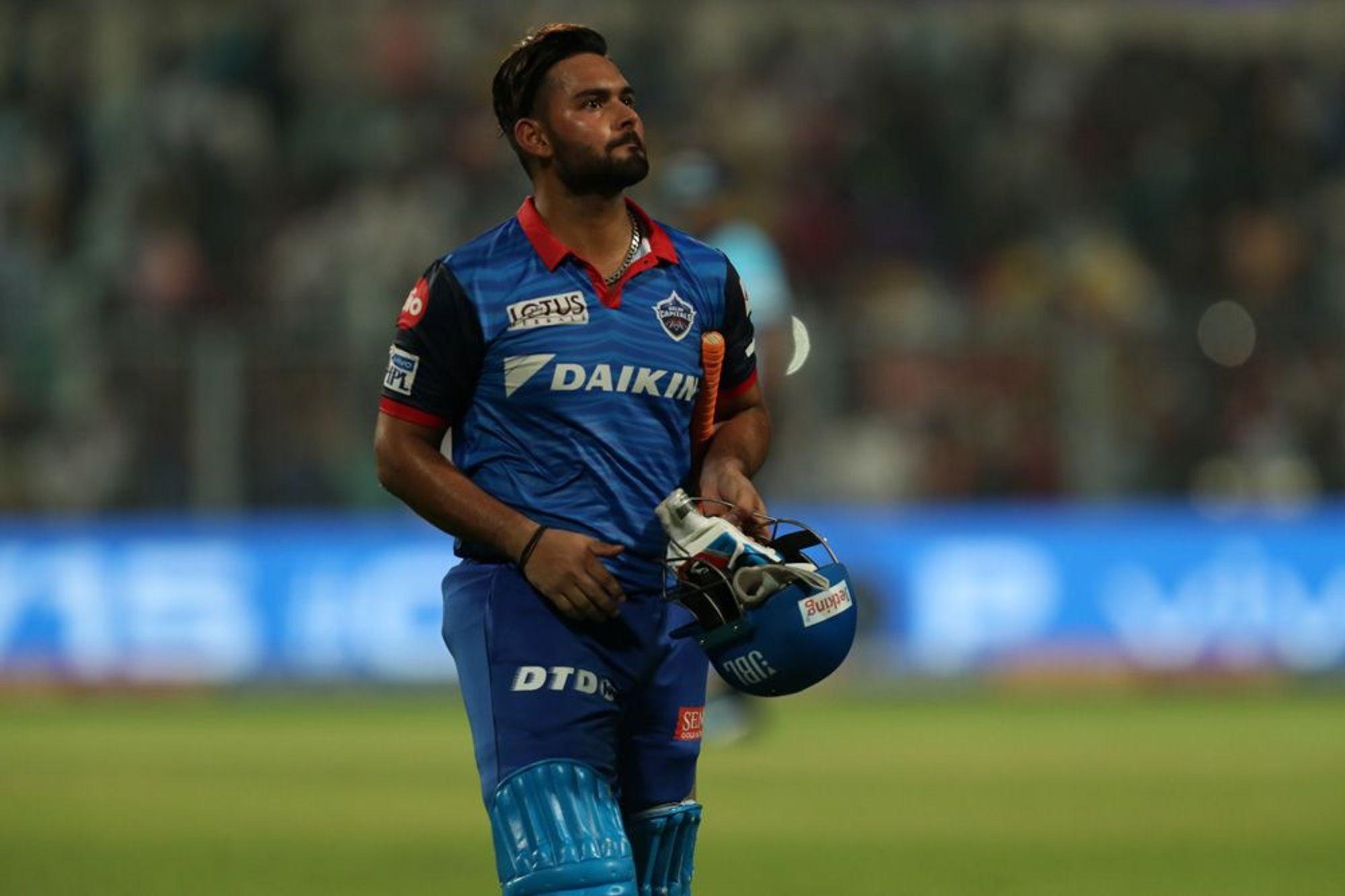 KKRvsDC : मैच के बाद ऋषभ पंत ने बताया विकेट होने के बाद भी क्यों अंत तक की धीमी बल्लेबाजी 24