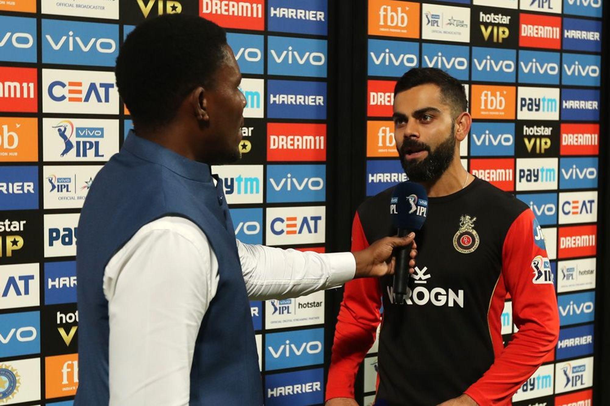 RCBvsKKR : 'मैन ऑफ़ द मैच' विराट कोहली ने बड़ा दिल दिखाते हुए खुद को नहीं, बल्कि इस खिलाड़ी को दिया जीत का पूरा श्रेय